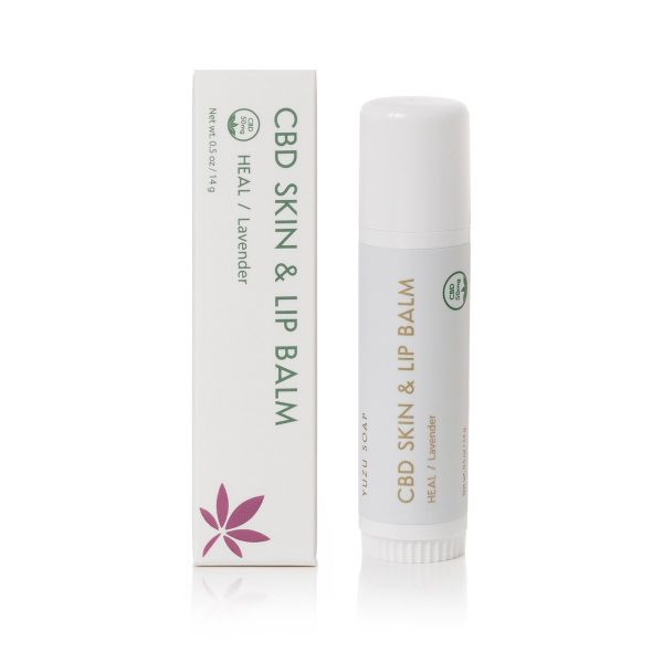 CBD Skin Lip Balm Lavender