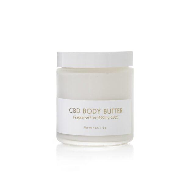 Fragrance Free CBD Body Butter