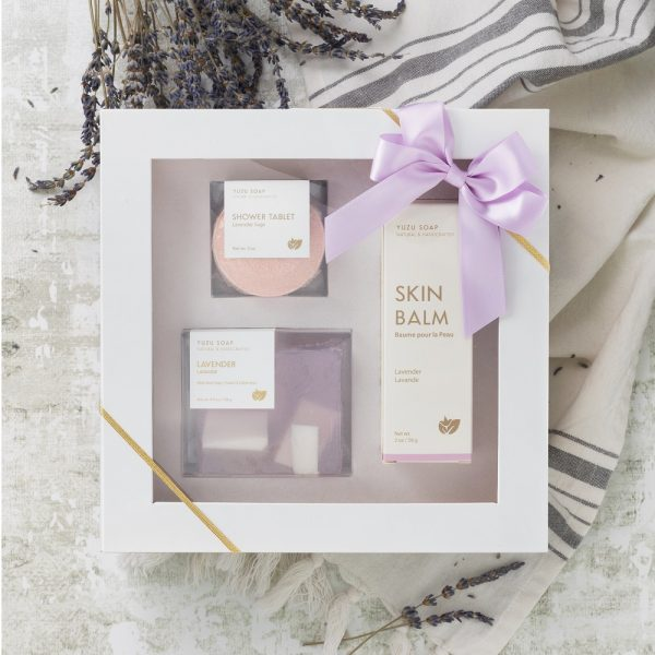 Lavender Self Care Gift Set 3